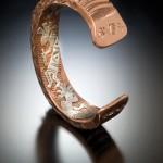 Andy Marion, untitled men's bracelet, copper.