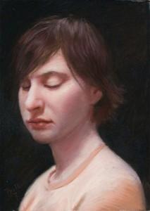 John Philbin Dolan, Gwen, pastel, 12 x 9.