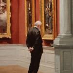 Pauline Roche, The Gentleman, oil, 12 x 9.