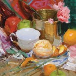 Josh Clare, Peeled, oil, 11 x 14.
