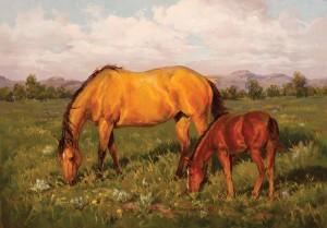 Shawn Cameron, Summer's Song, oil, 14 x 20.