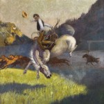 Will James, I Was Handed Some Mighty Tough Ones, oil, 30 x 24. Estimate $175,000-$225,000.