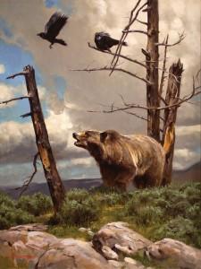 Dustin Van Wechel, The Interlopers, oil, 24 x 18.