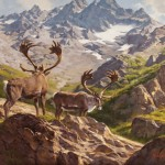 Dustin Van Wechel, Through the Mountain Pass, oil, 24 x 30.