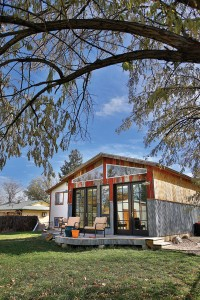 Andrea Kemp's studio in Golden, CO.