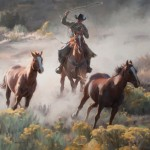 Tom Browning, Escape Route, oil, 22 x 28.