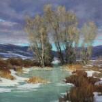 Kim Lordier, Gossamer Coat, pastel, 24 x 30.
