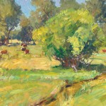 Walt Gonske, Viejo San Acacio, oil, 24 x 36.