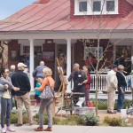 Artists at Passport to the Arts in Santa Fe.
