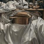 Gregory Block, Communion, oil, 35 x 24.