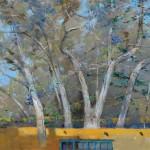 Albert Handell, Early Spring Moment, oil, 18 x 24.
