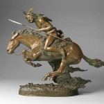 The Cheyenne (1901) by Frederic Remington. Denver Art Museum, Funds from William D. Hewit Charitable Annuity Trust.