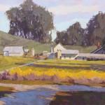 Camille Przewodek, Afternoon Mustard, oil, 24 x 36.