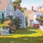 Camille Przewodek, Provincetown, Gateway to Light, oil, 11 x 14.
