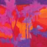 Marshall Noice, Deeper Sky, oil, 20 x 16.
