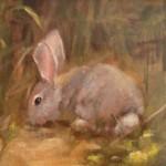 Beverly Endsley, Breakfast al Fresco, oil, 8 x 10.