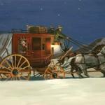 William Ersland, The Last Passenger, acrylic, 12 x 16.