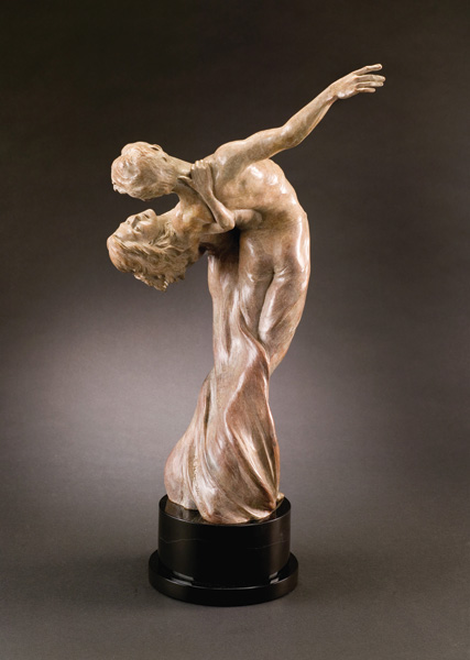 Moana Ponder, Moment in Time, bronze, 30 x 18 x 11.