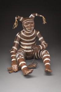 Liz Wolf, Untethered, bronze, 11 x 10 x 13.