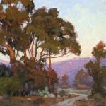 Jim Wodark, Eucalyptus Evening, oil, 20 x 24.