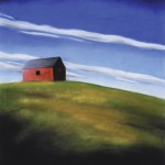 Kathy Beekman, Summer's Day, pastel, 24 x 22.