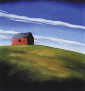 Kathy Beekman, Summer's Day, pastel, 24 x 22.