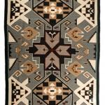 Teec Nos Pos weaving, circa 1930. Estimate: $9,000-$14,000.