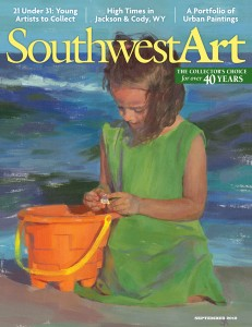 Southwest Art magazine | September 2012 cover