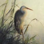 Ralph Grady James, Early Light, oil, 24 x 18.