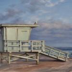 Derek Harrison, Tower 14, oil, 10 x 15.
