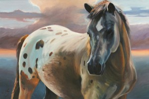 Susan Sheets, Proud, oil, 24 x 36.