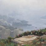 David Santillanes, Seaside Bouquet, oil, 16 x 24.
