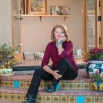 1214Christine Debrosky in her studio in