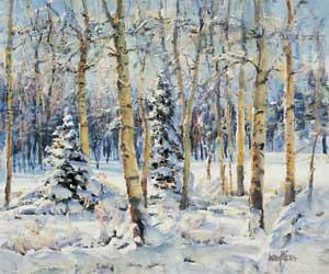 Grouse Season, oil, 20 x 24.