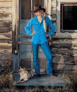 Cowgirl Blues, oil, 28 x 22.