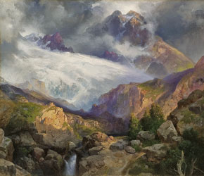 The Eternal Snows of Mt. Moran by Thomas Moran