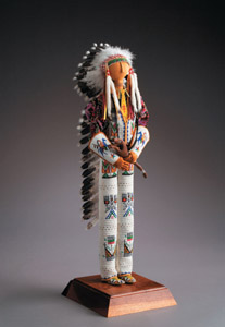Beaded Doll by Jamie Okuma
