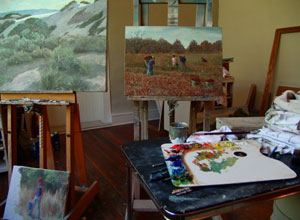 Michael Hurd's Studio