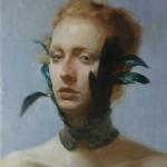 Tony Pro, Le Col de Plumes, oil, 14 x 12.
