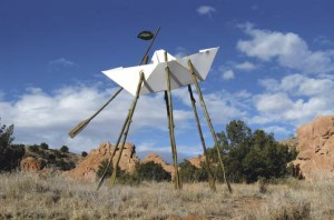 Kevin Box, Living Waters, aluminum/stainless steel, 166 x 204 x 96.