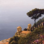 William Berra, An Afternoon in Ravello, oil, 40 x 30.