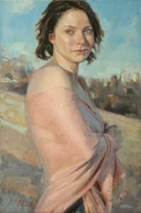 David McLeod, Reticence, oil, 24 x 16.