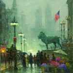 The Art Institute – Chicago, oil, 20 x 16