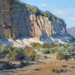Sun Sand, oil, 24 x 30.