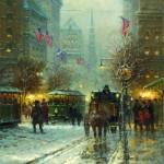 Music of Manhattan, oil, 30 x 24