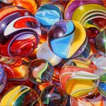 Marbles #10 by Pat Bailey