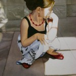 Lili In Contemplation by Susan Morris McGee