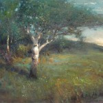 Gordon Brown, Aspen Tree, oil, 20 x 24.