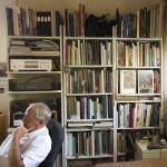 P.A. Nisbet's bookselves
