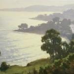 Montecito Sparkle, oil, 14 x 18.